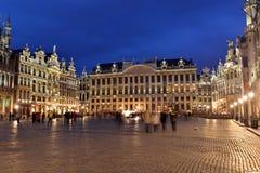 Belgien Bryssel, Grote Markt Fotografering för Bildbyråer
