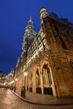 Belgien Bryssel, Grote Markt Royaltyfria Foton