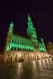 Belgien Bryssel, Grote Markt Arkivfoto