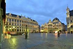 Belgien Bryssel, Grotte Markt Arkivbilder