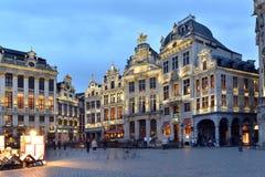 Belgien Bryssel, Grotte Markt Royaltyfria Foton