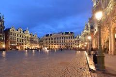 Belgien Bryssel, Grotte Markt Royaltyfri Bild