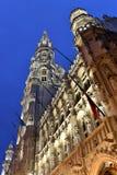 Belgien Bryssel, Grotte Markt Arkivfoton