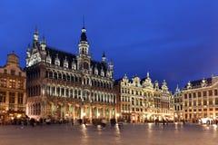 Belgien Bryssel, Grotte Markt Royaltyfria Bilder