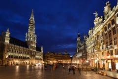 Belgien Bryssel, Grotte Markt Royaltyfri Fotografi
