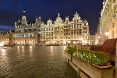 Belgien Bryssel, Grotte Markt Arkivbild