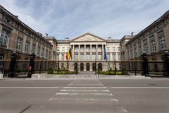 Belgien federal parlament Royaltyfria Foton