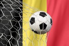 Belgien-Fußball Stockfoto