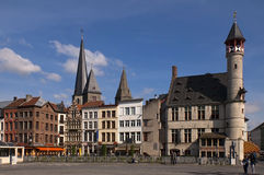 Belgien ghent gator Royaltyfri Bild