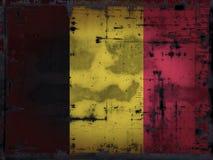 Belgien grunge Arkivbild