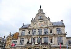belgien Königliches flämisches Theater in Gent lizenzfreie stockfotos