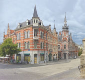 Belgien leuven royaltyfri fotografi