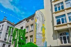Belgien, malerische Stadt von Brüssel Stockbild