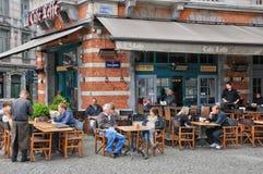 Belgien, malerischer Sablon-Bezirk von Brüssel Lizenzfreie Stockbilder