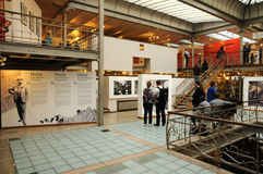 Belgien, malerisches Bildgeschichtemuseum von Brüssel Stockbild