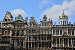 Belgien, malerisches Grand Place von Brüssel Lizenzfreies Stockbild