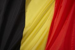 Belgien-Markierungsfahne Stockfoto