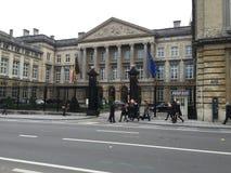 BELGIEN-PARLAMENTS-GEBÄUDE Stockbild