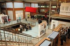 Belgien pittoreskt museum för komisk remsa av Bryssel Royaltyfria Bilder