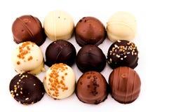 Belgien-Schokolade Stockfoto