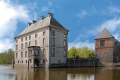 Belgien slott Arkivfoto