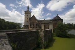 Belgien slott royaltyfri foto