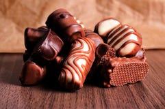 Belgien chcocolate royaltyfria bilder