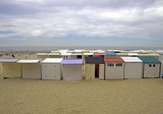 Belgien strand Arkivbilder