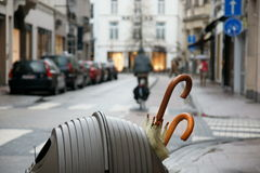 Belgien-umbrelas Stockfotografie