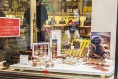 Belgijska czekolada w cukierku sklepie w Bruksela, Belgia Obraz Stock