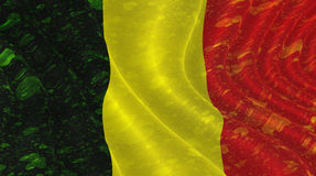 belgijska flagę Obrazy Stock