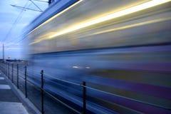Belgijski nabrzeżny tramwaj Zdjęcia Stock