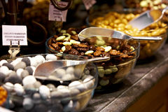 belgijskie czekolady Zdjęcia Royalty Free