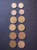Belgijskie monety Obraz Stock