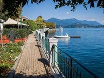 Belgirate on Lake Maggiore, Italy Stock Image