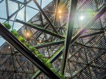 Belgisch paviljoen in EXPO, de wereldexpositie Royalty-vrije Stock Foto