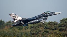 Belgische F-16 stock foto