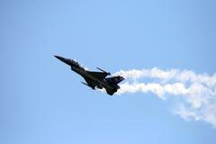 Belgische F16 Stock Foto