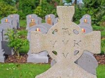 Belgische Gräber des Ersten Weltkrieges Lizenzfreie Stockfotografie