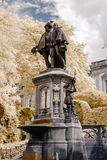 Belgische klassieke architectuurmening in infrarode kleuren Royalty-vrije Stock Foto's