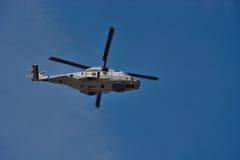 Belgische legerhelikopter Stock Afbeelding