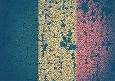 Belgische Markierungsfahne Lizenzfreie Stockbilder