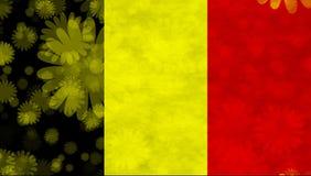 Belgische Markierungsfahne Stockfotografie