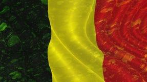 Belgische Markierungsfahne Stockbilder