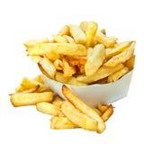Belgische Pommes-Frites Stockfotos