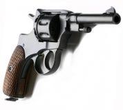 Belgische revolver Nagant royalty-vrije stock afbeelding