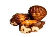 Belgische Schokolade der Süßigkeit Stockfotos