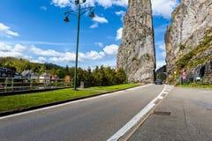 Belgische Stadt von Dinant stockfoto
