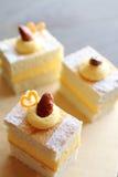 Belgischer Kuchen Stockfoto