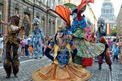 Belgischer Nationaltag Stockbild